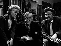 Barbara Mullen, Andrew Cruickshank  and Bill Simpson in 'Dr Finlay's Casebook' 