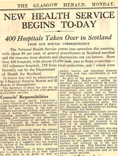 Glasgow Herald, 5 July 1948. 